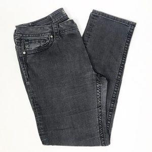 Miss Me Black Mid Rise Skinny Jeans